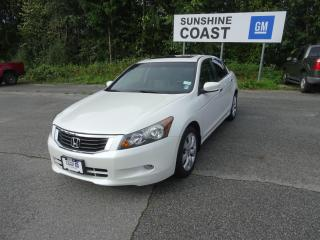 Used 2010 Honda Accord EX-L V6 for sale in Sechelt, BC
