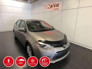 Used 2016 Toyota Corolla LE - SIÈGES CHAUFFANTS for sale in Québec, QC