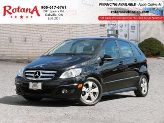 Used 2009 Mercedes-Benz B-Class ONE OWNER_ACCIDENT FREE_SUNROOF for sale in Oakville, ON