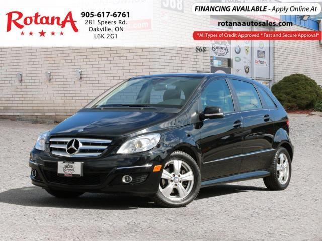 2009 Mercedes-Benz B-Class ONE OWNER_ACCIDENT FREE_SUNROOF