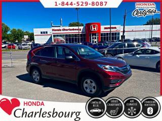 Used 2016 Honda CR-V LX AWD **BAS KM** for sale in Charlesbourg, QC