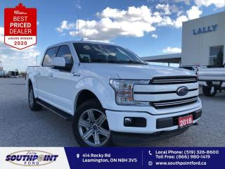 Used 2018 Ford F-150 Lariat LARIAT 4x4 Leather HTD&Cooled seats Navi Reverse c for sale in Leamington, ON