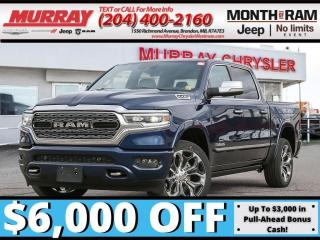 New 2021 RAM 1500 Limited *NAV* *SOS Assist* *Sunroof* *Heat/Vent* for sale in Brandon, MB