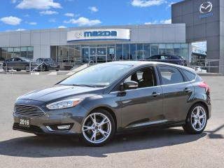 Used 2016 Ford Focus Titanium- ONLY 40869 KMS!!! Remote Starter,Leather heated seats, Navigation, Heated steering wheel, for sale in Hamilton, ON