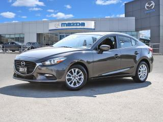 Used 2017 Mazda MAZDA3 GS- BLUETOOTH, HEATED SEATS, HEATED STEERING WHEEL for sale in Hamilton, ON