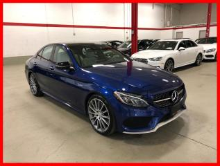 Used 2017 Mercedes-Benz C-Class C43 AMG 4MATIC PREMIUM AMG DRIVER LED 360 CAM for sale in Vaughan, ON