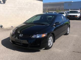 Used 2010 Honda Civic Cpe 2dr Auto DX-G for sale in Caledon, ON