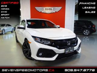 Used 2019 Honda Civic Hatchback SPORT HATCH | TURBO | FINANCE @ 4.65% for sale in Oakville, ON