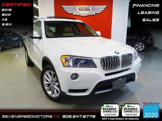 Used 2013 BMW X3 V6 PANORAMA | CERTIFIED | FINANCE @ 4.65% for sale in Oakville, ON