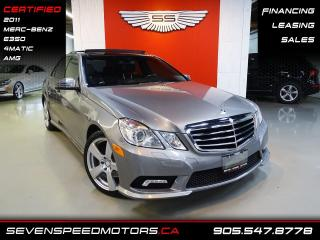 Used 2011 Mercedes-Benz E-Class E350 4MATIC | CERTIFIED | AMG | FINANCE @ 4.65% for sale in Oakville, ON