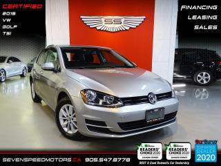 Used 2015 Volkswagen Golf GOLF | CERTIFIED | FINANCE @ 4.65% for sale in Oakville, ON