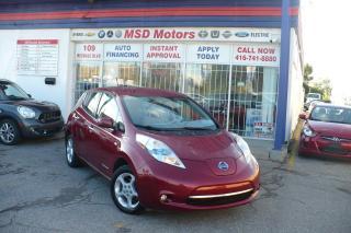 Used 2011 Nissan Leaf SV for sale in Toronto, ON