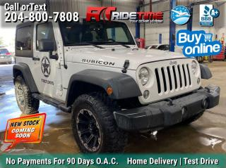 Used 2014 Jeep Wrangler RUBICON for sale in Winnipeg, MB