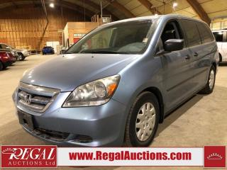 Used 2006 Honda Odyssey LX 5D WAGON for sale in Calgary, AB