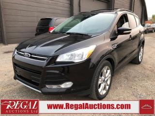 Used 2013 Ford Escape SEL 4D Utility AWD for sale in Calgary, AB