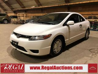 Used 2008 Honda Civic 2D COUPE for sale in Calgary, AB