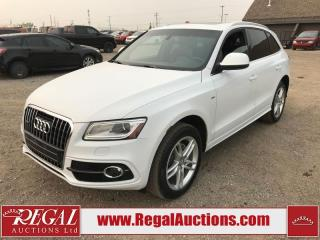 Used 2013 Audi Q5 Premium S LINE 4D SPORT UTILITY AWD for sale in Calgary, AB
