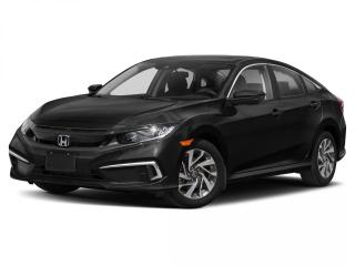 New 2020 Honda Civic Sedan EX for sale in Winnipeg, MB