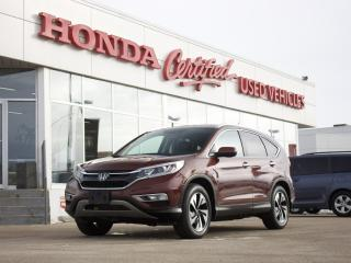 Used 2015 Honda CR-V Touring AWD | LEATHER | NAVI | for sale in Winnipeg, MB