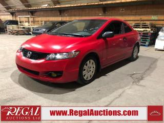 Used 2009 Honda Civic DX 2D Coupe for sale in Calgary, AB