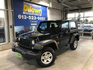 Used 2018 Jeep Wrangler JK Sport 4X4 | Hard Top, A/C, Sirius XM Radio for sale in Nepean, ON