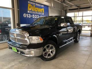 Used 2017 RAM 1500 Laramie Crew Cab 4X4 | Leather Bench Seat, Navi for sale in Nepean, ON