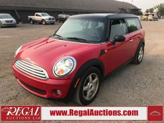 Used 2008 MINI Cooper Clubman 2D Hatchback for sale in Calgary, AB