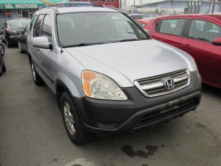 Used 2003 Honda CR-V EX for sale in Vancouver, BC