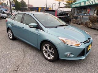 Used 2012 Ford Focus SEL for sale in Vancouver, BC
