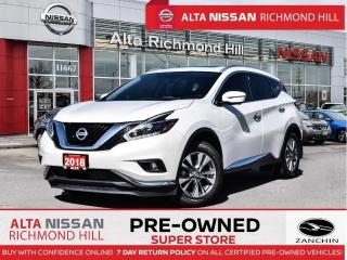 Used 2018 Nissan Murano SL AWD   360 CAM   Blind Spot   Rear Heated   Navi for sale in Richmond Hill, ON