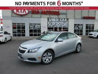 Used 2014 Chevrolet Cruze LT, Bluetooth, Remote Starter, Auto Lights. for sale in Niagara Falls, ON