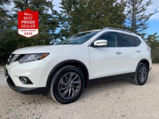 Used 2016 Nissan Rogue AWD SL *NAVIGATION - PANORAMIC ROOF - 360 CAMERA* for sale in Winnipeg, MB