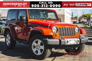 Used 2012 Jeep Wrangler SAHARA | NAV | ONE OWNER | BLUETOOTH | for sale in Hamilton, ON