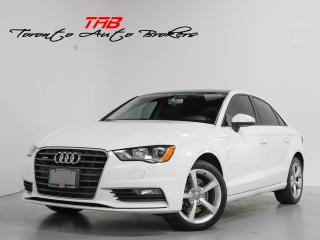 Used 2016 Audi A3 2.0T I KOMFORT I SUNROOF I CLEAN CARFAX for sale in Vaughan, ON