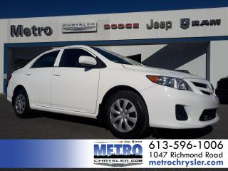 Used 2012 Toyota Corolla CE Drives Like New for sale in Ottawa, ON