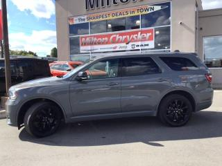 Used 2019 Dodge Durango GT AWD BLACKTOP SUNROOF DUAL DVD 7 PASENGER for sale in Milton, ON
