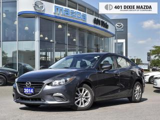 Used 2014 Mazda MAZDA3 GS-SKY |ONE OWNER|NO ACCIDENTS|1.99% FINANCING AVA for sale in Mississauga, ON