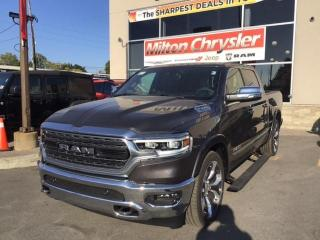 New 2021 RAM 1500 LIMITED CREW 4X4 / PANO ROOF / 22 INCH WHEELS / for sale in Milton, ON