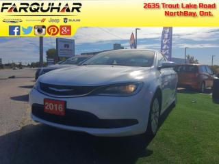 Used 2016 Chrysler 200 LX - Keyless Entry -  Cruise Control - $99 B/W for sale in North Bay, ON