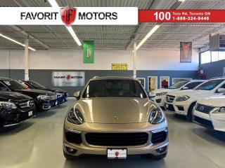 Used 2015 Porsche Cayenne S|AWD|NAV|BURMESTER|TAN LEATHER|PANOROOF|AIRSUSP.+ for sale in North York, ON
