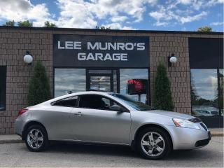 Used 2007 Pontiac G6 GT, Sunroof, Chrome Wheels, Certified for sale in Paris, ON