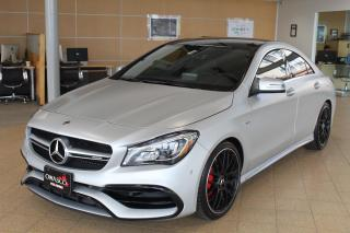 Used 2019 Mercedes-Benz CLA-Class 2.0L AMG CLA 45 4MATIC Coupe for sale in Whitby, ON