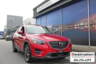 Used 2016 Mazda CX-5 GT-Roof Rack, Sunroof, Leather Fully Loaded! for sale in Vancouver, BC