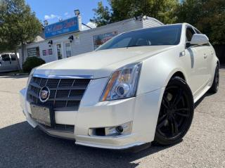 Used 2010 Cadillac CTS Wagon 5dr Wgn 3.6L Premium AWD HATCH BACK RARE FIND for sale in Brampton, ON