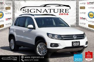 Used 2016 Volkswagen Tiguan 4MOTION 4dr Auto . LOW KMS. ONE OWNER. NO ACCIDENTS. for sale in Mississauga, ON