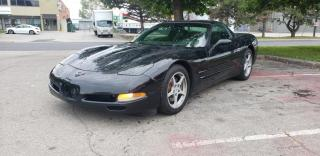 Used 2001 Chevrolet Corvette 2dr Cpe   Targa Top   Heads-Up Dis.   Ride Control   Leather for sale in Concord, ON