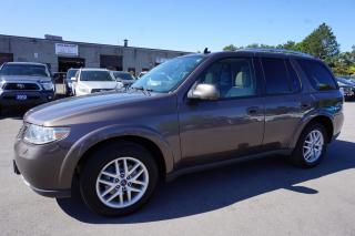 Used 2008 Saab 9-7X 4.2i AWD CERTIFIED 2YR WARRANTY SUNROOF BLUETOOTH LEATHER ALLOYS CRUISE for sale in Milton, ON