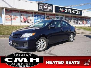 Used 2012 Toyota Corolla CE  HTD-SEATS BT PWR-GROUP 15