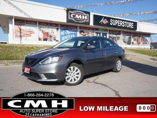 2017 Nissan Sentra SV  CAM BT HTD-SEATS PWR-GROUP