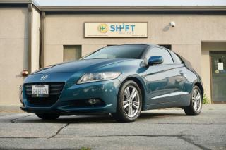 Used 2011 Honda CR-Z EX HYBRID, MANUAL TRANSMISSION, ACCIDENTS AND CLAIMS FREE for sale in Burlington, ON
